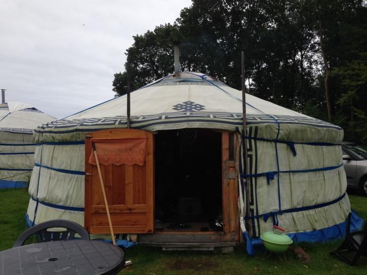"""The """"yurt"""""""